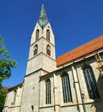 Holy Cross Cathedral in Rottweil Stock Images