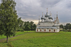 Holy Cross Cathedral in Tutaev Stock Image
