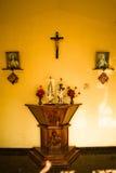 The Holy Cross Chapel alter, Anjuna, Goa, India Royalty Free Stock Image
