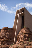 Holy Cross Chapel of Sedona stock image
