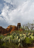 Holy Cross Chapel of Sedona Royalty Free Stock Photo