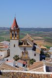 Holy Cross Chuch, Teba, Andalusia, Spain. Stock Photography