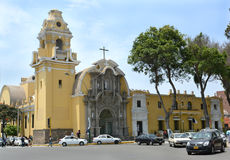 Holy Cross Church Barranco Peru Stock Images