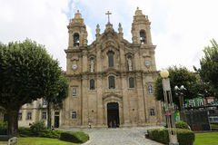 Holy Cross Church in Braga Stock Image