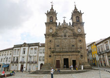 Holy Cross Church in Braga Royalty Free Stock Photo
