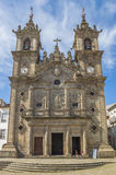 Holy cross church in the center of Braga Stock Images