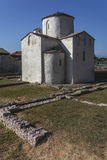 Holy Cross church in Nin, Croatia Stock Photography
