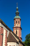 Holy cross church in Offenburg, Germany Stock Photos