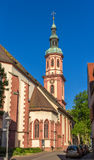 Holy cross church in Offenburg, Germany Stock Image