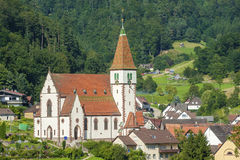 The holy cross church in Reichental Royalty Free Stock Image