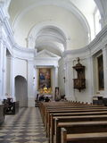 Holy Cross Church, Swiety Krzyz, Poland Royalty Free Stock Photography