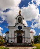 Holy Cross Church in town Vysokaye Stock Photos