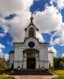 Holy Cross Church in town Vysokaye Stock Photos