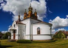 Holy Cross Church in town Vysokaye Royalty Free Stock Photo