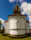 Holy Cross Church in town Vysokaye Royalty Free Stock Images