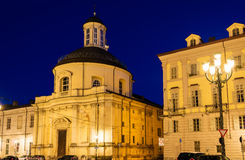 Holy Cross Church in Turin Royalty Free Stock Photography