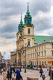 Holy Cross Church in Warsaw Royalty Free Stock Photography