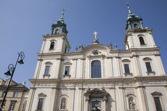 Holy Cross Church, Warsaw Royalty Free Stock Images