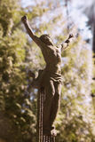 Holy cross with crucified Jesus Christ. Details Stock Images