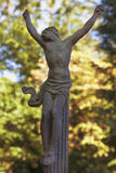 Holy cross with crucified Jesus Christ. Details Stock Photos