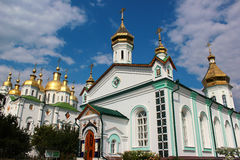 The Holy Cross Exaltation Monastery in Poltava, central Ukraine Royalty Free Stock Photography