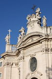 Holy Cross in Jerusalem Basilica in Rome stock photography