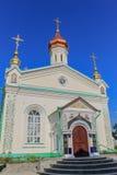 Holy Cross Monastery (1650) Stock Photo