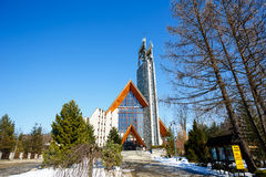 Holy Cross Parish Church in Zakopane Stock Photo