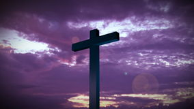 Holy Cross 3. Religious stock footage of a Holy Cross stock footage