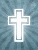 Holy Cross Starburst grunge background Stock Images