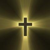 Holy cross symbol sun light flare
