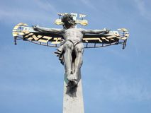 Holy crucifixion at Calvary Royalty Free Stock Photo