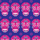 Holy Death, Day of the Dead, Mexican Sugar Skull,ad, Feast of Death, Vector Skeleton Head Drawing. Holy Death, Day of the Dead, Mexican Sugar Skull, Day of the vector illustration