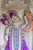 Holy deity in Hindu temple figure Stock Photo