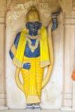 Holy deity in Hindu temple figure Royalty Free Stock Photos