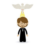 Holy design. Over white  background vector illustration Royalty Free Stock Images