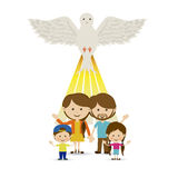 Holy design. Over white background vector illustration Stock Photography