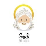 Holy design. Over white background vector illustration Stock Image