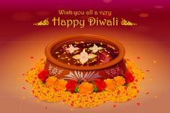Holy diya for Diwali festival Stock Images