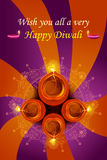 Holy diya for Diwali festival Royalty Free Stock Image