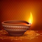 Holy Diya for Festival. Vector illustration of holy diya for Diwali festival Stock Photography