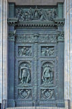 Holy Door of Ancient Church Stock Image
