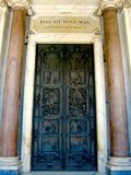 The Holy Door, St. Paul outside the walls Stock Image