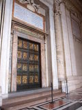 Holy Door, Vatican, Italy Stock Photos
