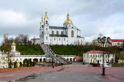 Holy Dormition Cathedral and the Holy Spirit female monastery, V Royalty Free Stock Photography
