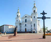 Holy Dormition Cathedral on the Uspenskaya mountain, Vitebsk, Be Stock Image
