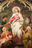 Holy Elizabeth from Hungary Royalty Free Stock Photos