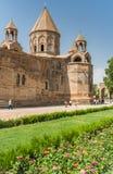 Holy Etchmiadzin church near Yerevan Stock Image