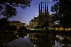 Holy family in Barcelona,Spain Royalty Free Stock Photo