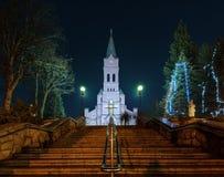 Holy Family church in Zakopane before christmas Royalty Free Stock Photography